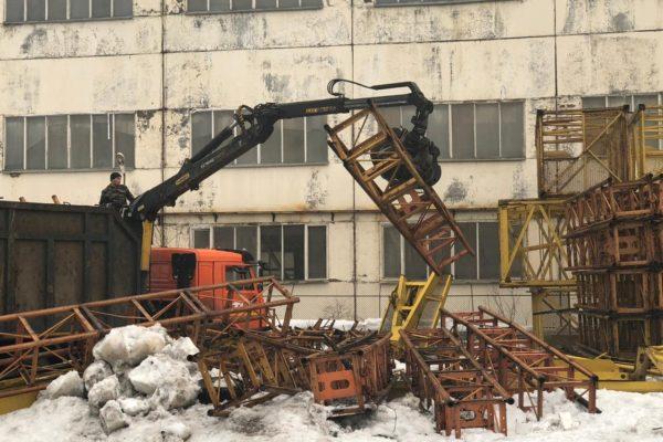 Демонтаж металлолома