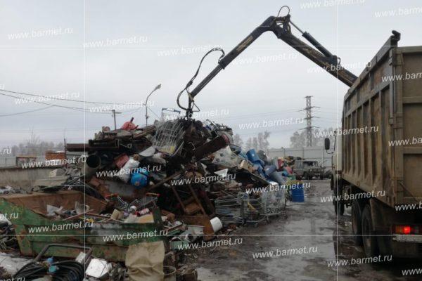 Вывоз -прием металлолома с территорий предприятий и частных лиц в поселке Любочаны Чеховского района Московской области