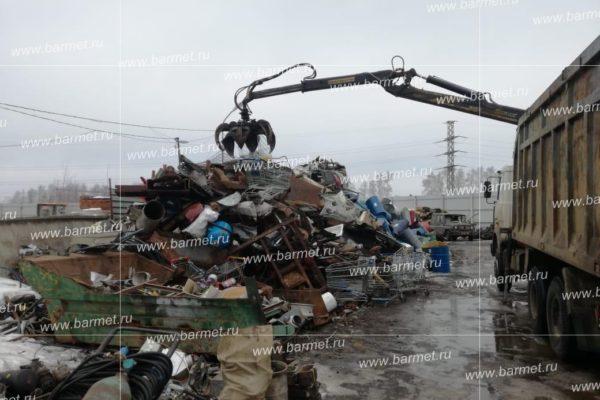 Вывоз металлолома из микрорайона Барыбино в Домодедово Московской области